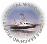 Coastal Missions logo: People Reaching People
