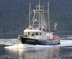 Coastal Messenger underway